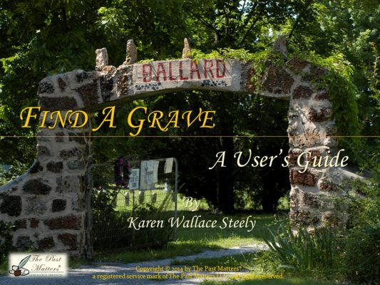 Find A Grave: A User's Guide