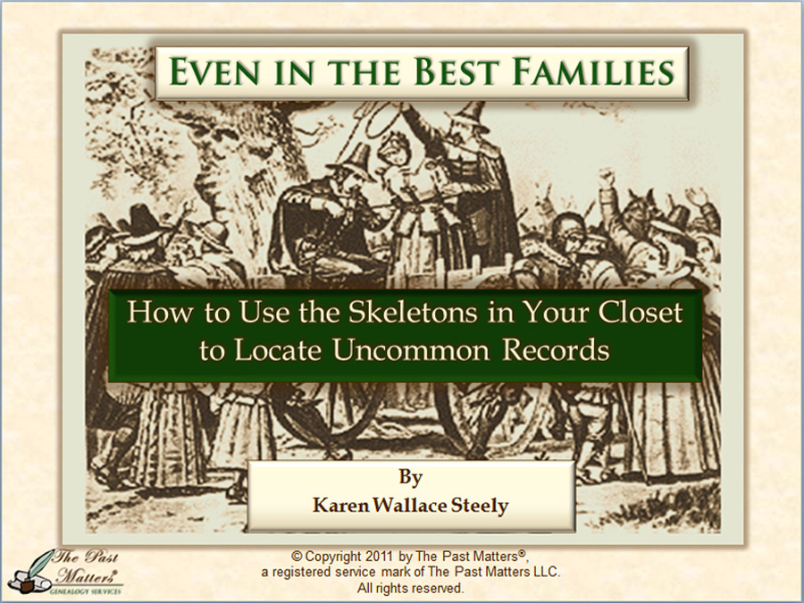How to Use the Skeletons in Your Closet to Locate Uncommon Records