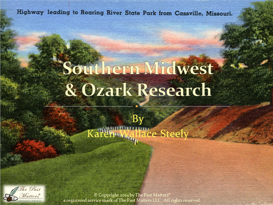 Southern Midwest and Ozark Research