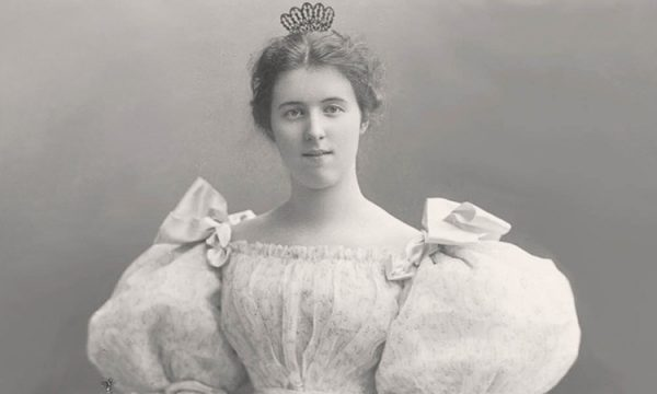 Louise Hoge in May 1895, while she was a student at the Mount Vernon Seminary in Washington, D.C.
