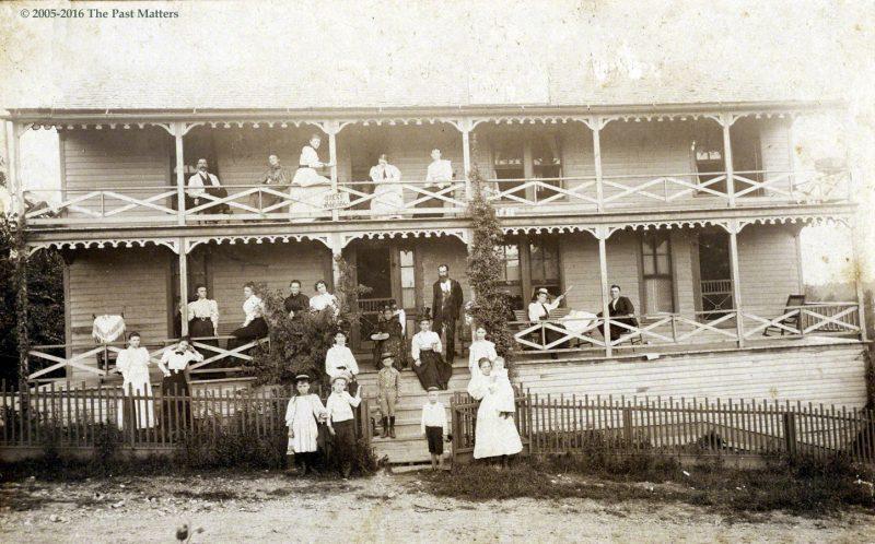 Antlers Hotel in Eureka Springs, Arkansas about 1897